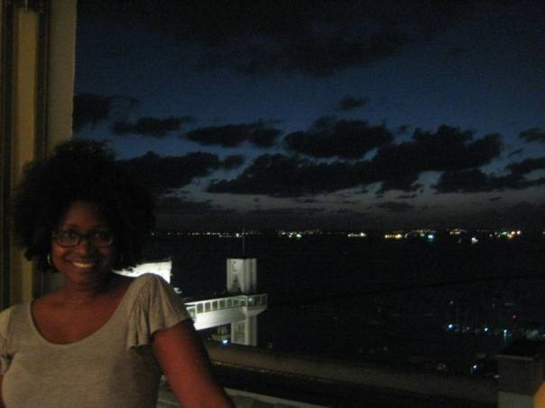 amazing view at classmate Justin's place in Pelourhino...too dark to see the ocean and square unfortunately