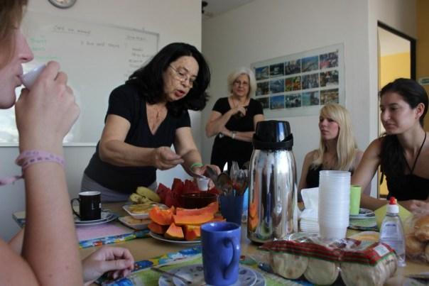 vocab lesson via breakfast